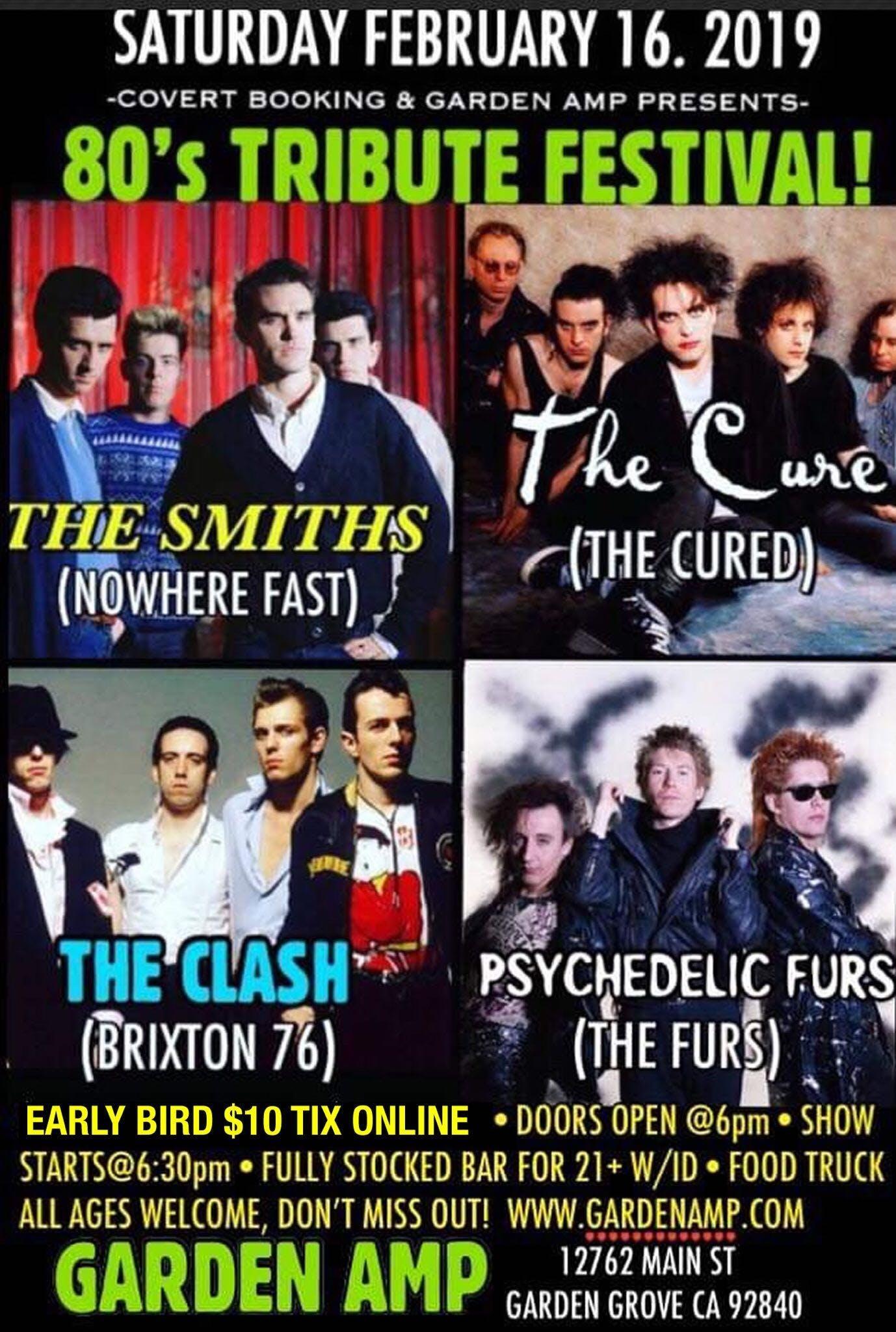 80s Tribute Festival