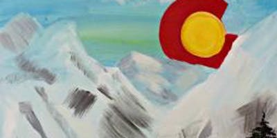 Paint Wine Denver Colorado Rising Thurs Feb 7th 6:30pm $35