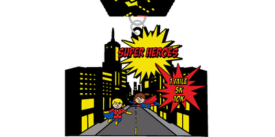 2019 Super Heroes Day 1 Mile, 5K & 10K - Jackson