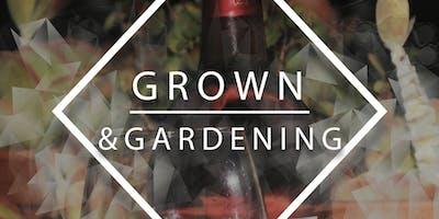 Grown & Gardening: A Plant & Sip Event