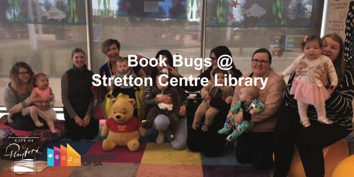 Book Bugs @ the Stretton Centre Library