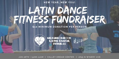 Latin Dance Fitness Fundraiser: New Year, New You!