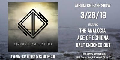 Dying Desolation Album Release Show