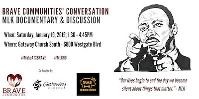 BRAVE Communities' Conversation - Honoring MLK's 90th Birthday