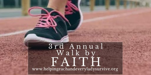 3rd Annual Walk By Faith Event