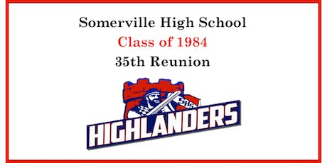 Somerville High School - Class 1984, 35th Reunion tickets