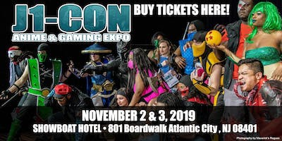 J1-***: Anime & Gaming EXPO 2019 - TICKETS