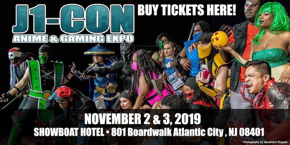 J1-Con: Anime & Gaming EXPO 2019 - TICKETS Tickets, Sat, Nov