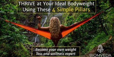 Harness Your Hormones: Reset your body's thermostat and THRIVE at your ideal body weight (FREE EVENT)