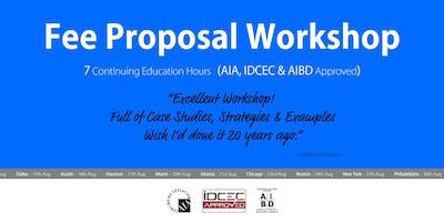 Chicago Fee Proposal Workshop