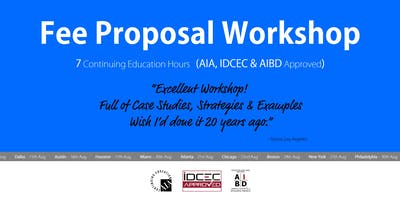 Seattle Fee Proposal Workshop
