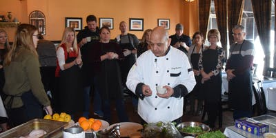 Whole Food Cooking with Chef Sentissi/ Nutritionist.