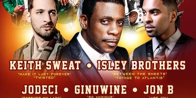 Keith Sweat, Isley Brothers, Jodeci, Ginuwine, & Jon B!