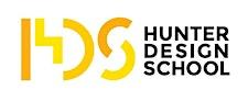 Hunter Design School logo
