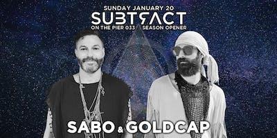 Subtract On The Pier 033: Sabo & Goldcap