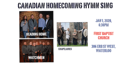 New Year's Day Hymn Sing with, Watchmen, Chapelaires and Heading Home tickets