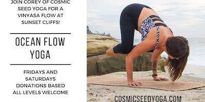 Ocean Flow Yoga Class at Sunset Cliffs