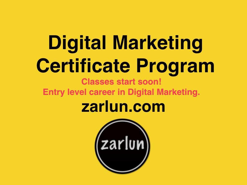 Best Digital Marketing Certificate Program San Diego