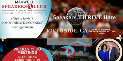 Maxwell Speakers Club of Riverside