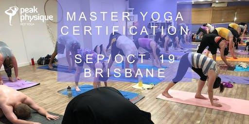 200hr Master Yoga Certification Brisbane