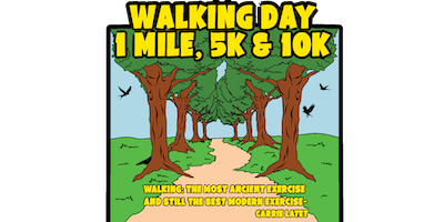 2019 Walking Day 1 Mile, 5K & 10K - Shreveport