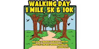 2019 Walking Day 1 Mile, 5K & 10K - Springville