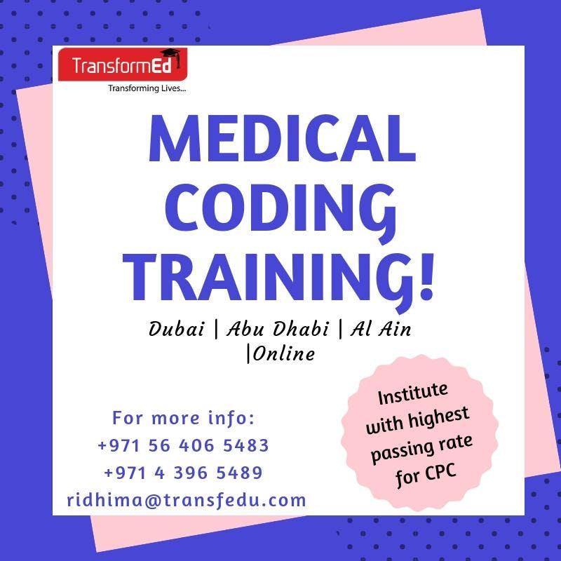 Medical Coding Training Abu Dhabi 11 Jan 2019