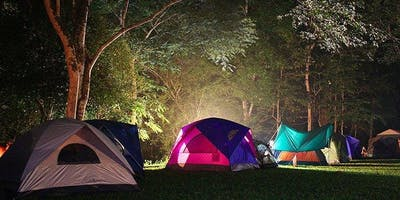 Autumn Wild Camp Out at Ryton Pools Country Park