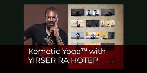 Kemetic Yoga™ Certification with YIRSER RA HOTEP (TORONTO, ON)