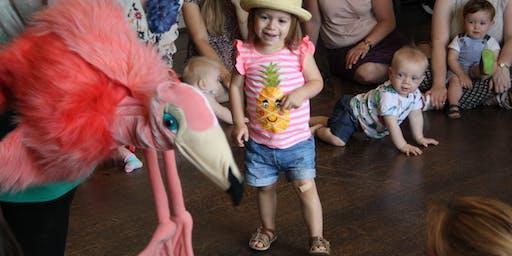 Little Flamingos: Pots & Pans