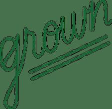 Grown logo