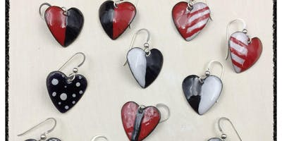 Torch Fire Enamels: Hearts - Metal Jewelry Making