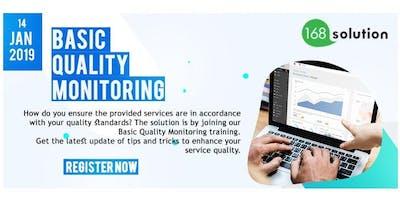 [Paid Training] Basic Quality Monitoring