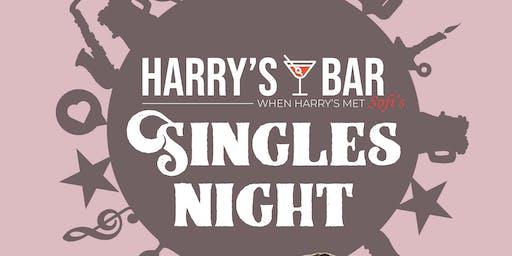Singles Night at Harry's Bar