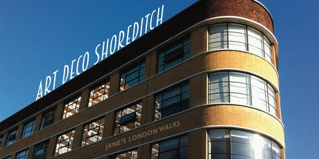1930s Art Deco architecture in Shoreditch and Hoxton tickets
