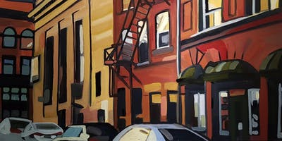 Oil Painting Workshop: Urban Scene with Michelle Reid