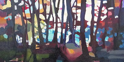 Oil Painting Workshop: Forest Scene with Michelle Reid