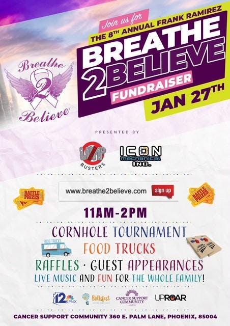 The 8th Annual Frank Ramirez Breathe to Believe Fundraiser