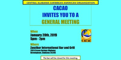 CACAO 2019 General Meeting