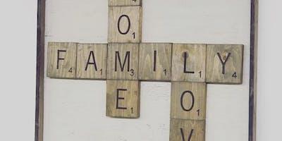 Scrabble Letter Signs
