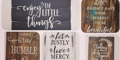 Rustic Quotes and Valentine Signs