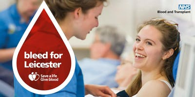 Give Blood in Leicester & Help Save a Life in 2019!