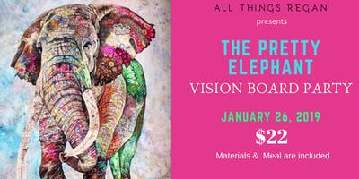 The Pretty Elephant Vision Board Party