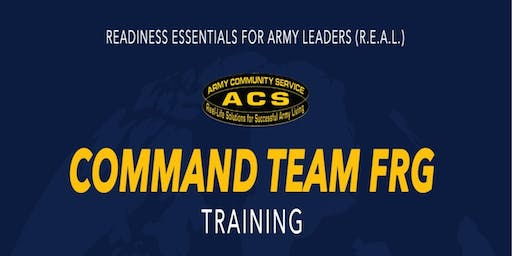 R.E.A.L. Command Team FRG Training