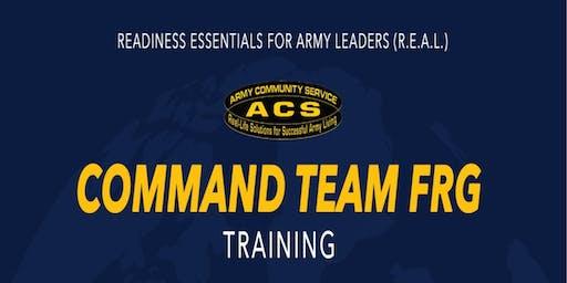 R.E.A.L. Command Team SFRG Training