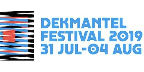 Dekmantel Festival 2019 tickets