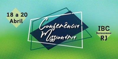 V CONFERÊNCIA MISSIONÁRIA IBCB