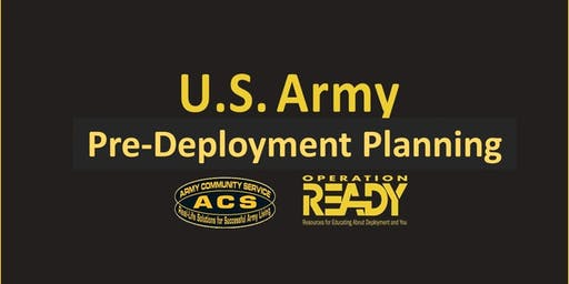OPREADY: Pre-Deployment Planning