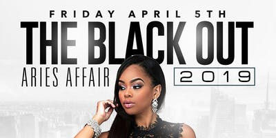 THE BLACK OUT APRIL 5TH AT CRYSTAL MANOR
