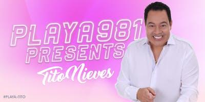 La Nueva Playa 98.1 presenta Flechazo Playero con Tito Nieves